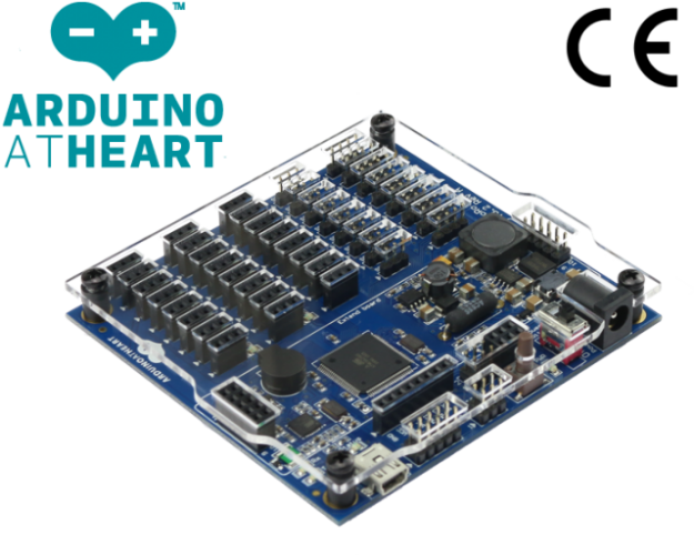 EMoRo 2560 controller the first Arduino compatible controller with CE
