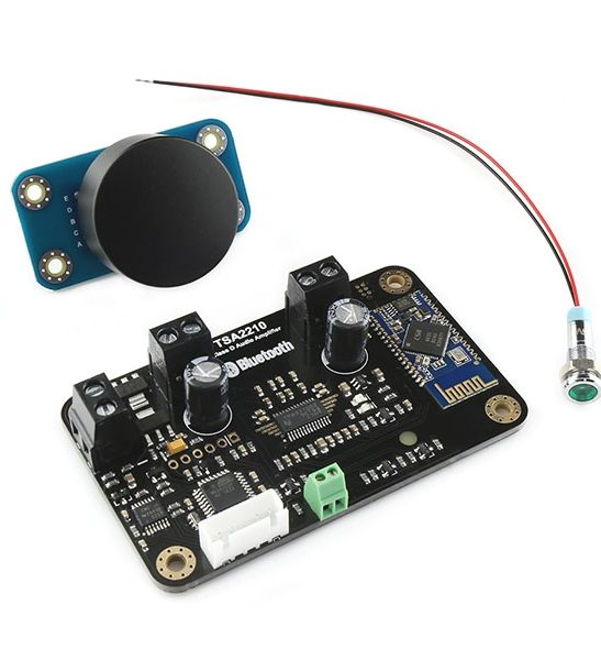 2 x 8 Watt Bluetooth Audio Amplifier Kit