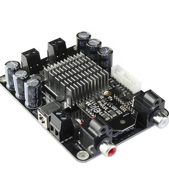 2 x 50W Class D Bluetooth Audio Amplifier Board