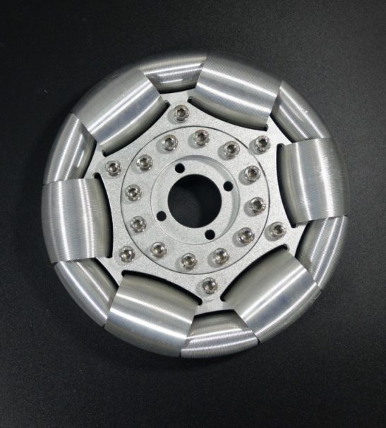 127mm Aluminum single Omni wheel for ball balance ballbot 14210