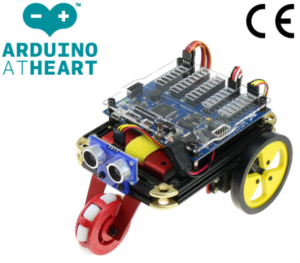 EMoRo Basic designed to encourage logical thinking for robotic competitions and teaching in a school environment