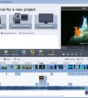AVS Video Editor is a full-featured editor for high quality video creation and processing