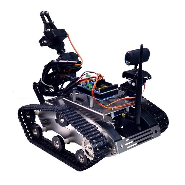 WiFi Robot Car Kit with Wifi Camera for Arduino