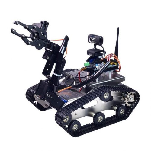 Wifi robot car kit with ds camera for arduino