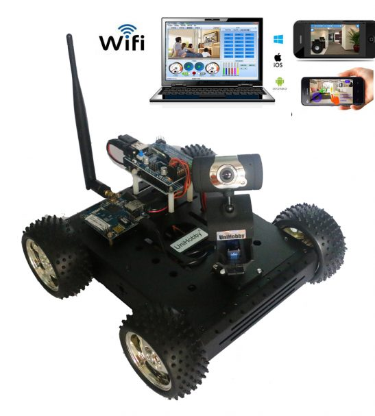 Arduino Wifi Robot Car Chassis Kits for Arduino Projects