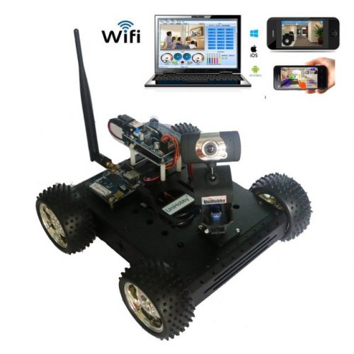 Arduino wifi robot car chassis kits for projects