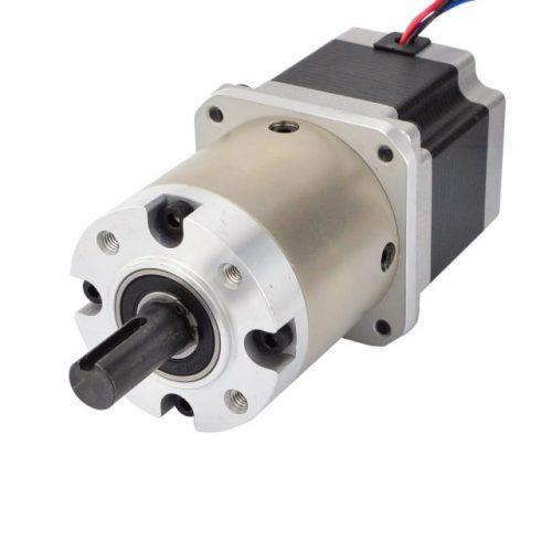 Nema 23 stepper motor bipolar l56mm with gear ratio 15 1 for Nema 15 stepper motor