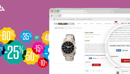 Share for Discounts Plugin for WooCommerce