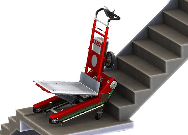 Stair Climbing Robot With Manual Or Automatic Mode