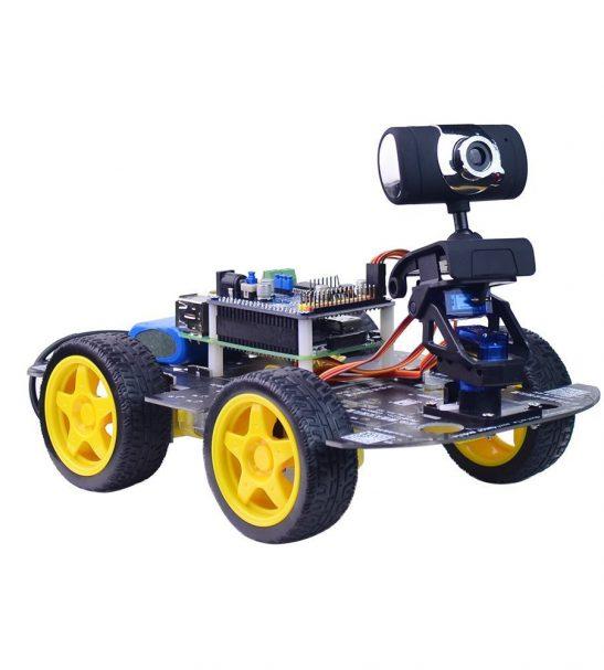 Wireless wifi robot car kit for raspberry pi by oz robotics shop owner unihobby malvernweather Images