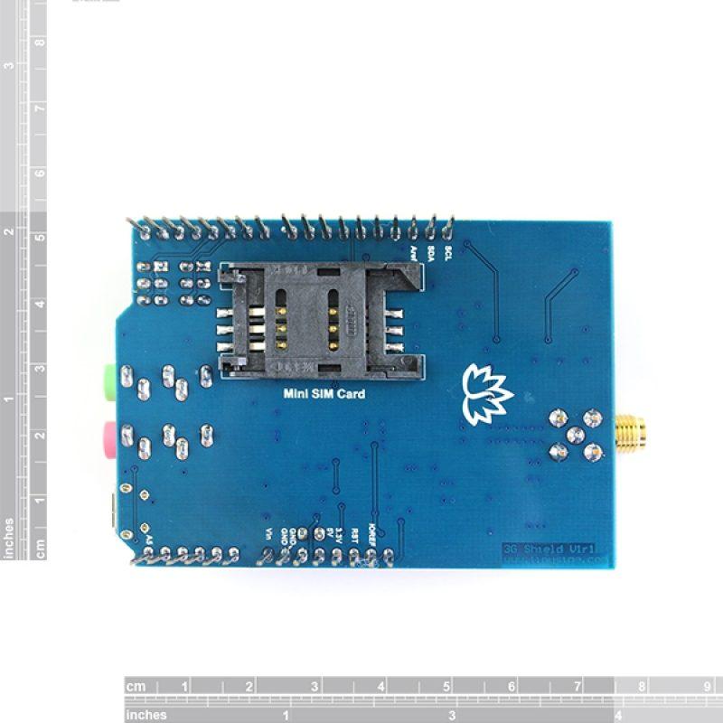 3G//GPRS//GSM Shield for Arduino European version SIM5320E