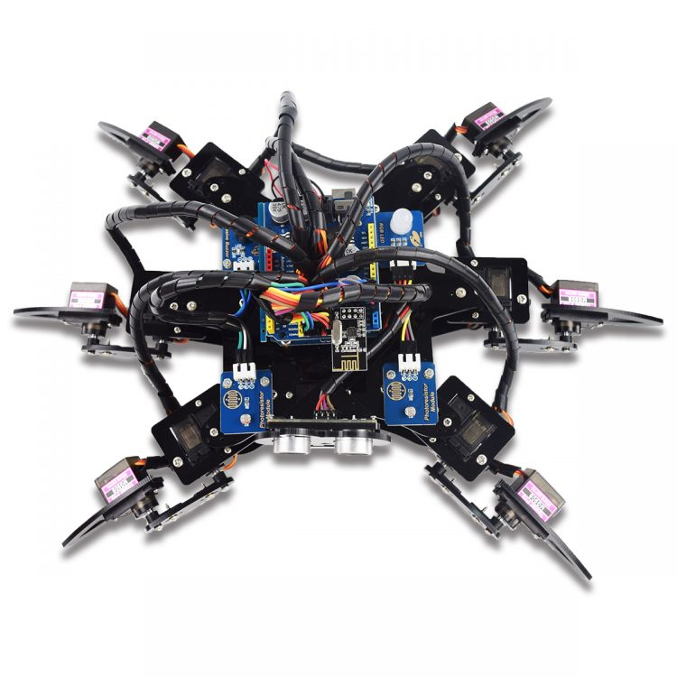 Hexapod 6 Legs Spider Robot Kit for Arduino UNO R3 and Nano