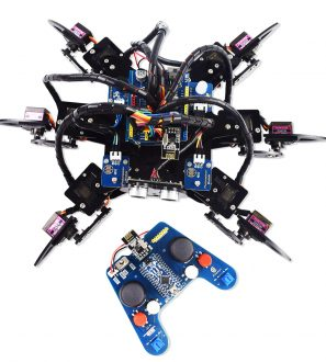 Omnidirectional Wheels Remote Control Smart Robot Car Kit for Arduino