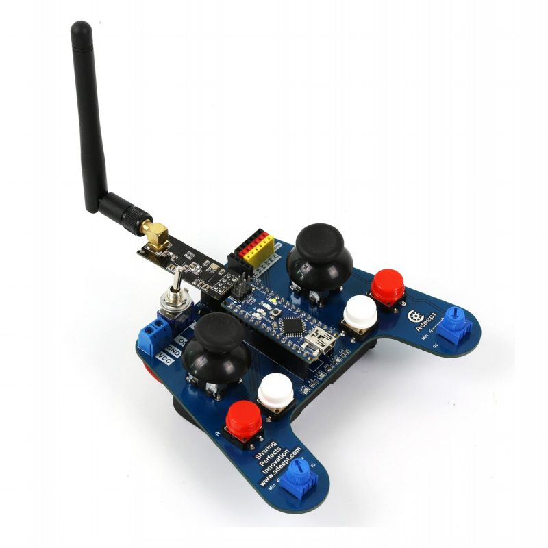 4wd Remote Control Smart Car Kit For Arduino