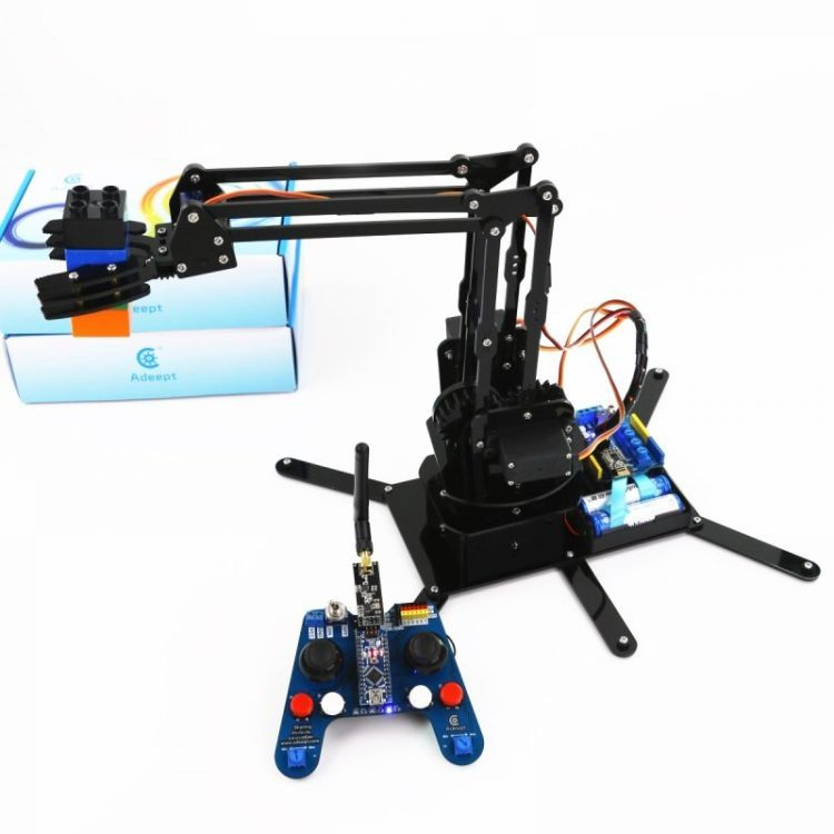 Arduino Compatible Robotic Arm Kit Based on Arduino UNO R3