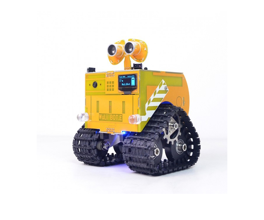 Wuli Bot Scratch STEAM Programming Wifi Robot APP Remote Control UNO R3 for  Kids and Students