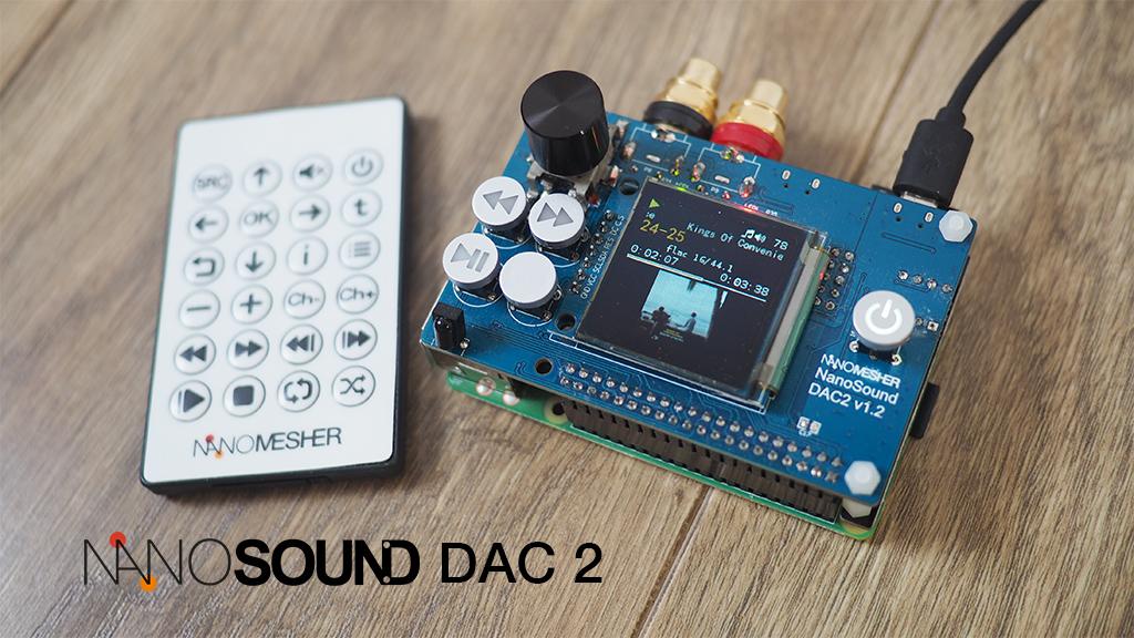 NanoSound DAC 2 Pro for Raspberry Pi