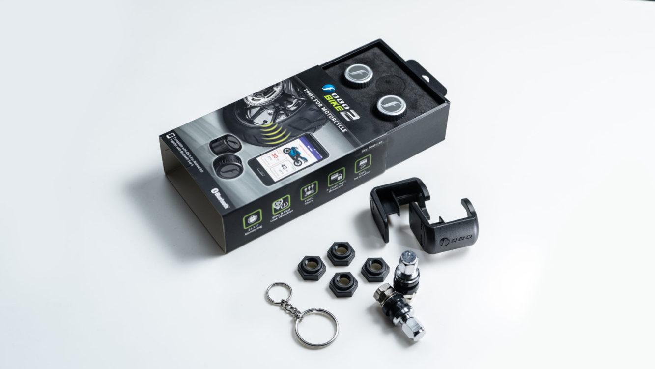 FOBO Bike 2 Tire Pressure Monitoring Systems Silver