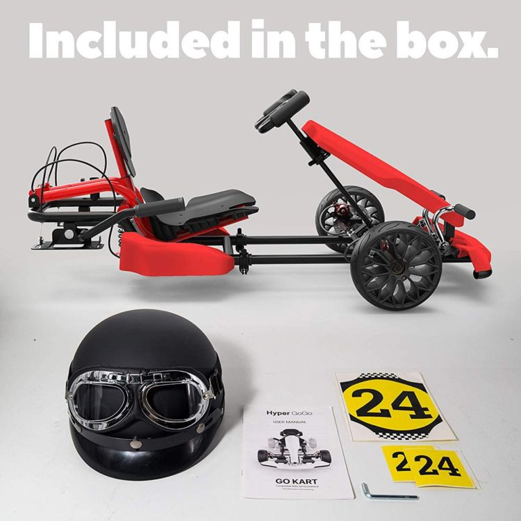 Pack of 4 x Number 4 in Red UK KART STORE