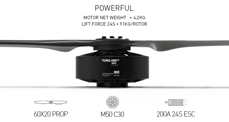 M50 manned drone motor